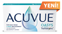 Acuvue Oasys with Transitions resmi