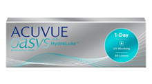 Acuvue Oasys 1-Day with HydraLuxe resmi