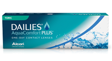 Dailies AquaComfort Plus Toric  (Astigmatlı lens) resmi