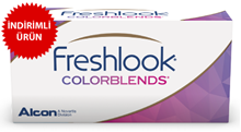 Freshlook ColorBlends (Hareli) Renkli Lens Numarasız resmi